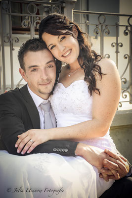 Brautpaar romantisches Shooting