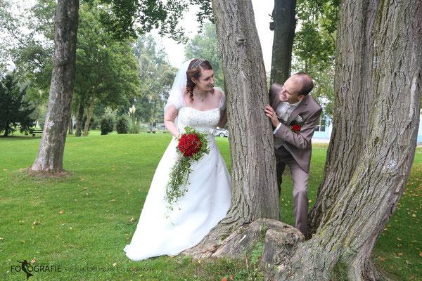 Brautpaarshooting in Luzern im Herbst