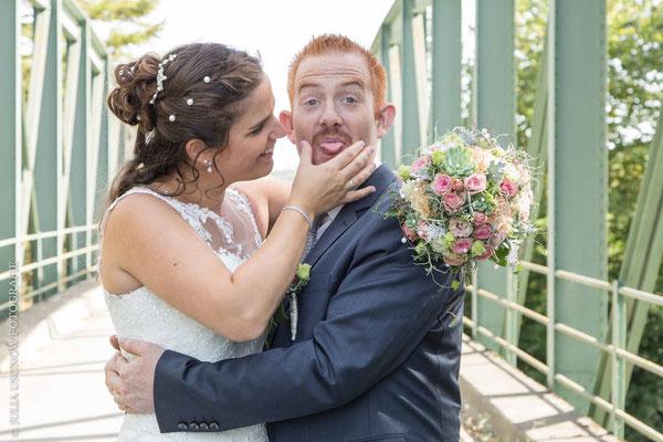 """Das Brautpaar-Shooting mit der Extraportion """"Fun"""""""