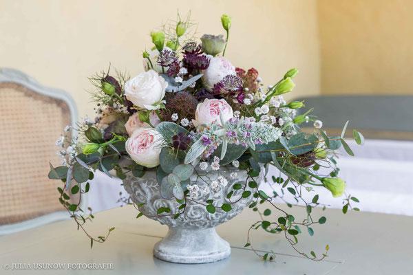 Blumenarrangement / Hochzeitsblumen