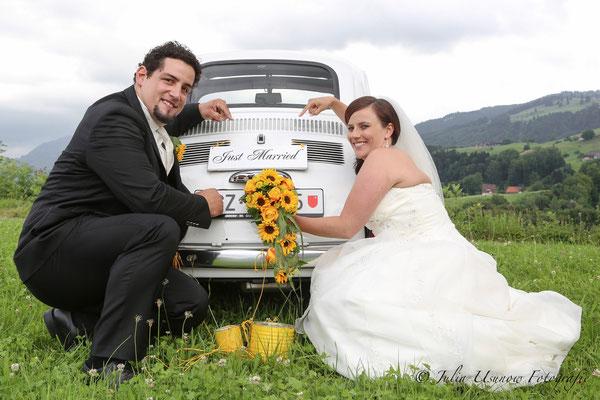Just Married, Brautpaarshooting