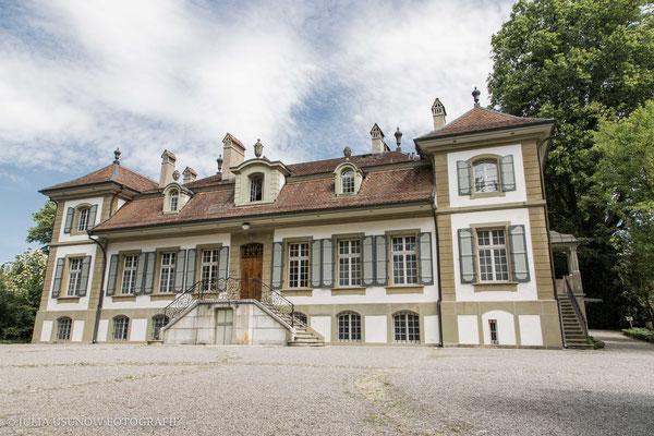 Schloss Bümpliz, Bern /  Aussenansicht