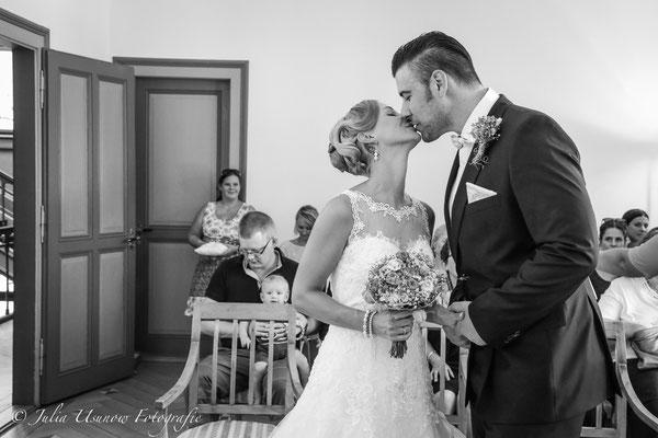 Hochzeitskuss, Villa Rockhall Biel