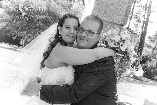 Brautpaar im Park, Hochzeit Solothurn