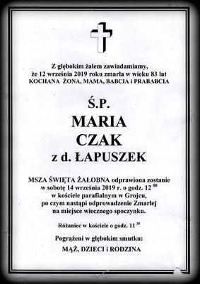 Maria Czak