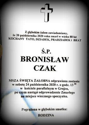 Bronisław Czak