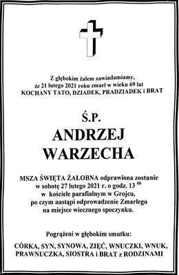 Warzecha Andrzej