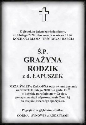 Grażyna Rodzik