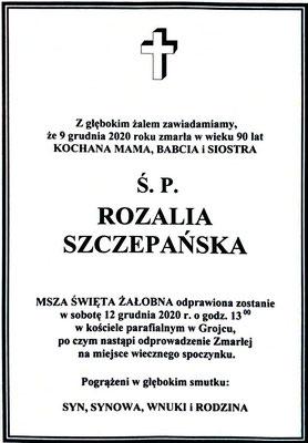 Rozalia Szczepańska