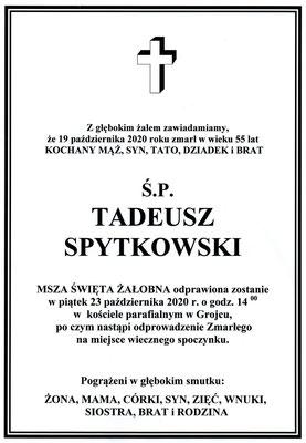 Tadeusz Spytkowski