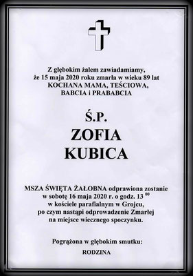 Zofia Kubica