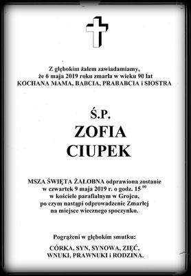 Zofia Ciupek