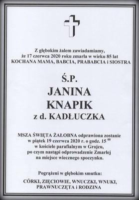 Janina Knapik