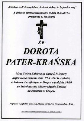 Dorota Pater-Krańska
