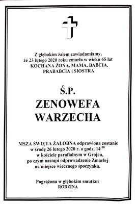 Zenowefa Warzecha