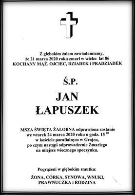 Jan Łapuszek
