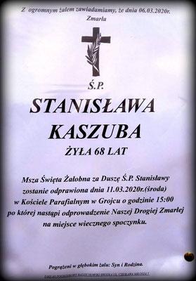Stanisława Kaszuba
