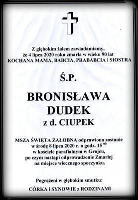 Bronisława Dudek