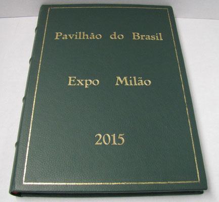 Libro firma per il padiglione del Brasile ad Expo 2015