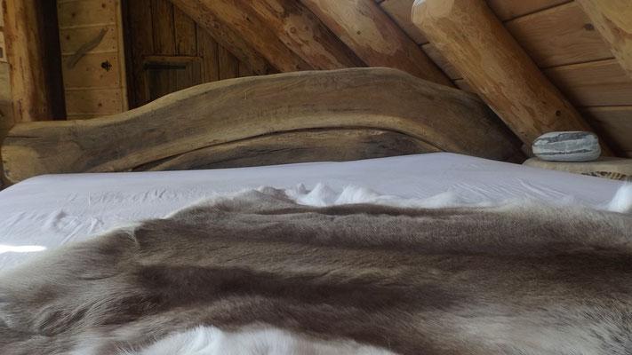 Lit en bois massif Bruno Rougé
