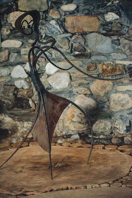 Sclupture metal. Jérômétal ferronnier d'art. Photographie www.essencedelavie.com