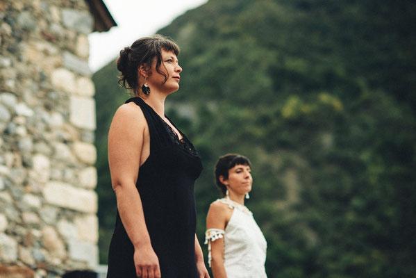 Capucine Panfiloff et Nadège Barthe. Photographie www.essencedelavie.com