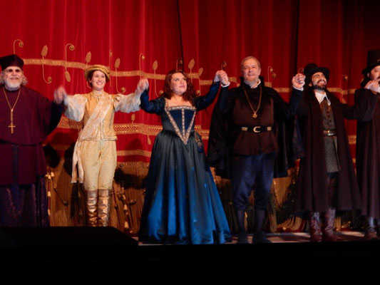 Curtain Call, Don Carlo, La Scala 2016