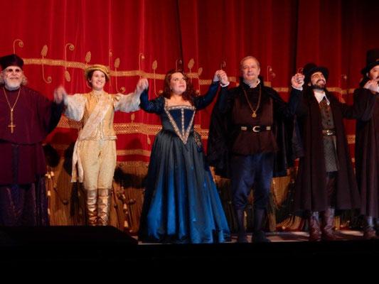 Curtain Call, Don Carlo, La Scala 2016