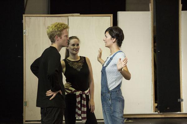 Le nozze-Proben mit Frederic Wake Walker und Marianne Crébassa