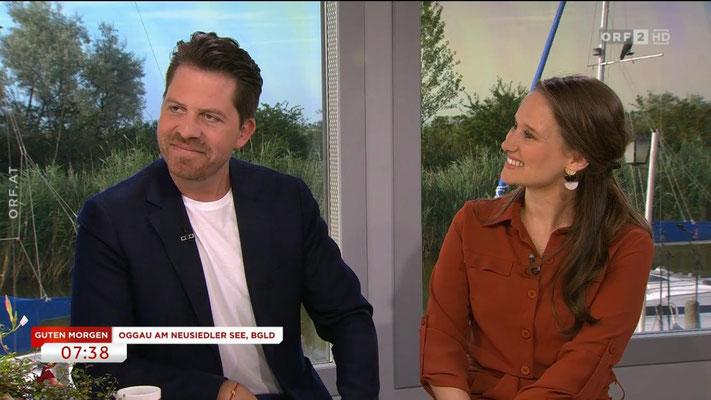 """bei """"Unterwegs in Österreich"""" (ORF) mit Daniel Serafin, 2019"""