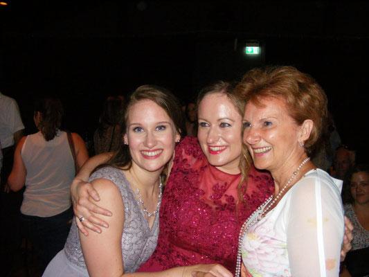 mit meiner Professorin KS Edith Lienbacher und Kollegin Eva-Maria Schmid