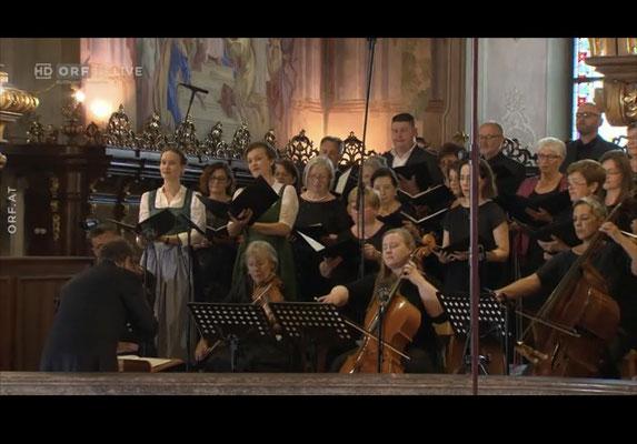 ORF III Fernseh-live-Hochamt aus der Stiftskirche Vorau am 15.August 2021