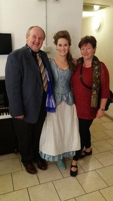 mit meinen Eltern Hilde und Ferdinand