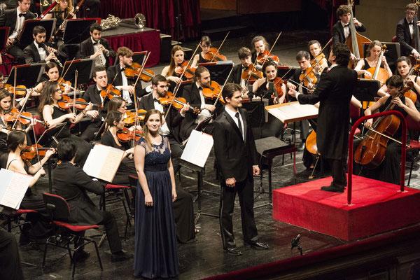 Orchesterkonzert mit Oliver Pürckhauer, Teatro alla Scala, 2016