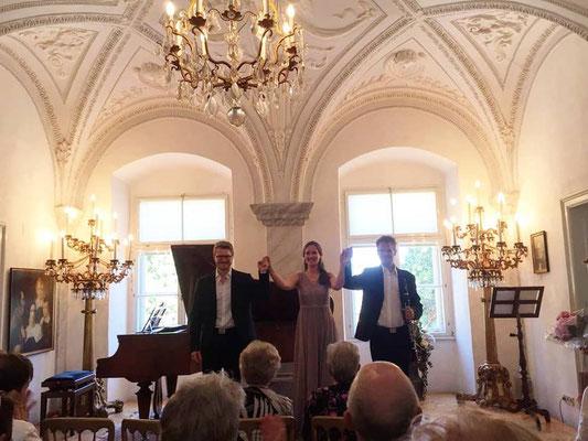 mit Andreas Fröschl (Klavier) & Simon Reitmaier (Klarinette)