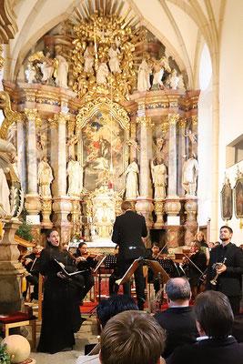 Kirchenkonzert Friedberg, Oktober 2019, Foto: Gottfried Wolf