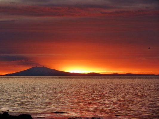 Sunset mit Snaefells...