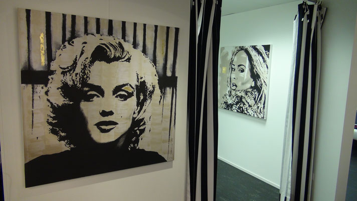 Daniela Schorno Vernissage boutique-joly Baar Pop Art Deco