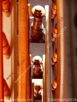 Oberansicht von einem Treppenhaus im Altbau