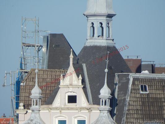Hausdächer einer Altstadt
