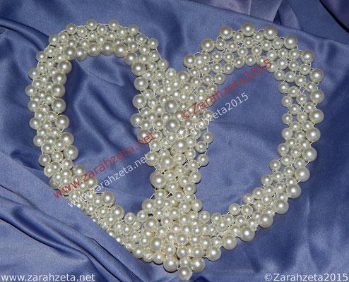 Perlenherz als Romantizismus