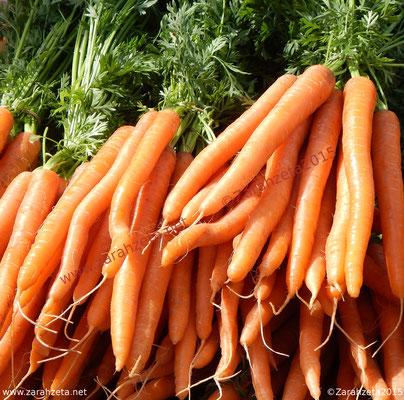 Frischen Karotten