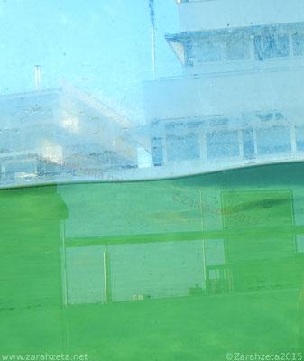 Unterwasserfotografie mit Wasserlinie