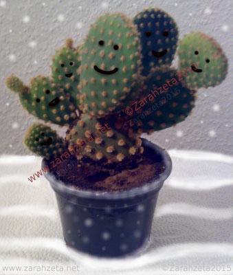 Kaktus im Schnee