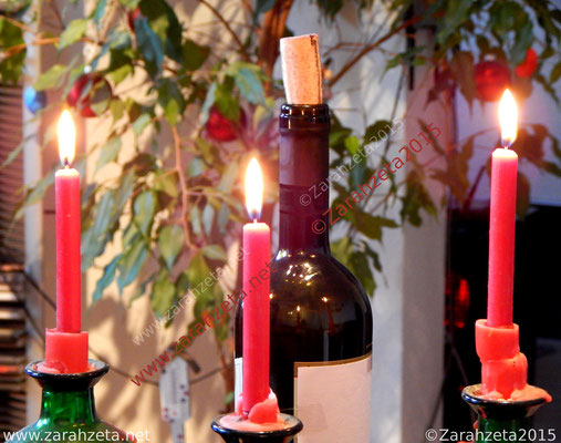 Kerzen zum dritten Advent