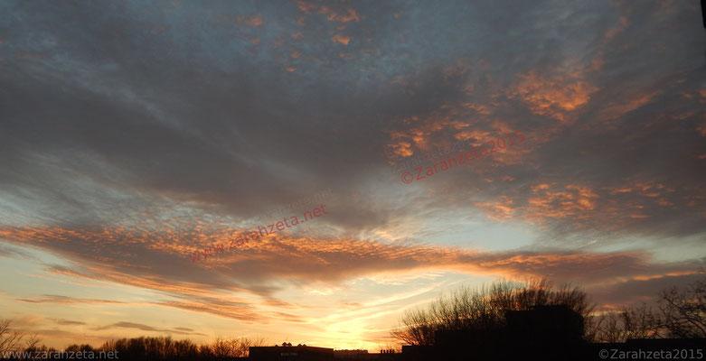 "Abendhimmel als ""skyart by nature """