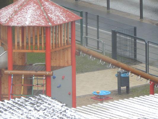Neuer Kinderspielplatz kurz vor Eröffnung