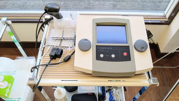 高電圧治療器・EMS・微弱電流