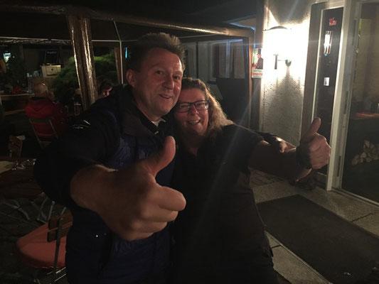 Frank Engel und die Chefin!!!