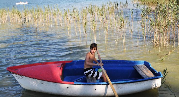 Im eigenen Ruderboot